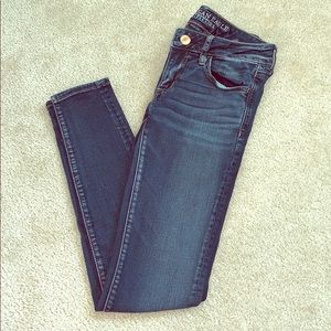 AE jeans - jeggings size 4